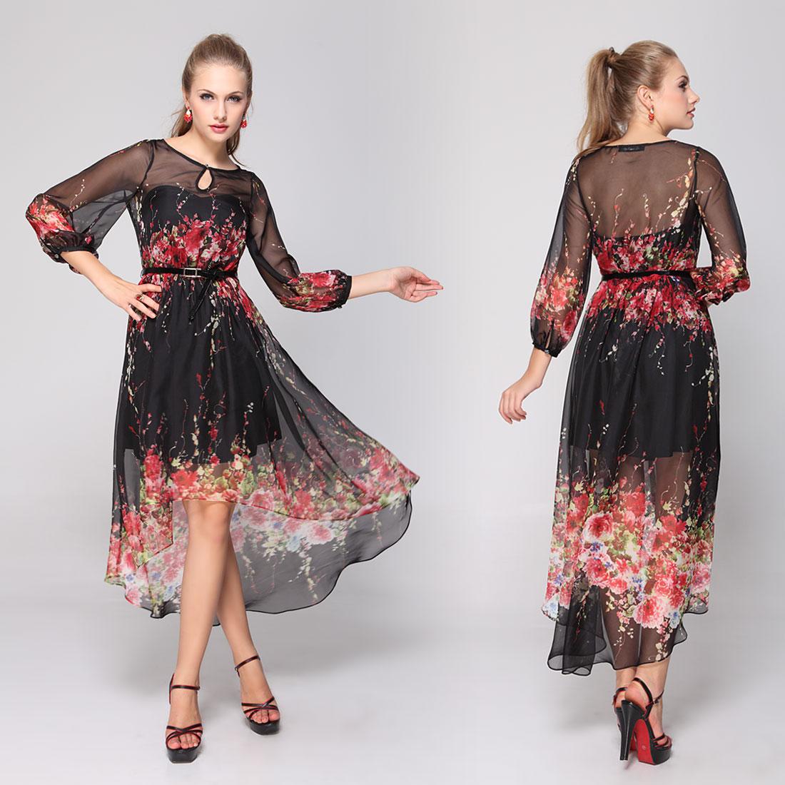 Вечерние шифоновые платья купить 10