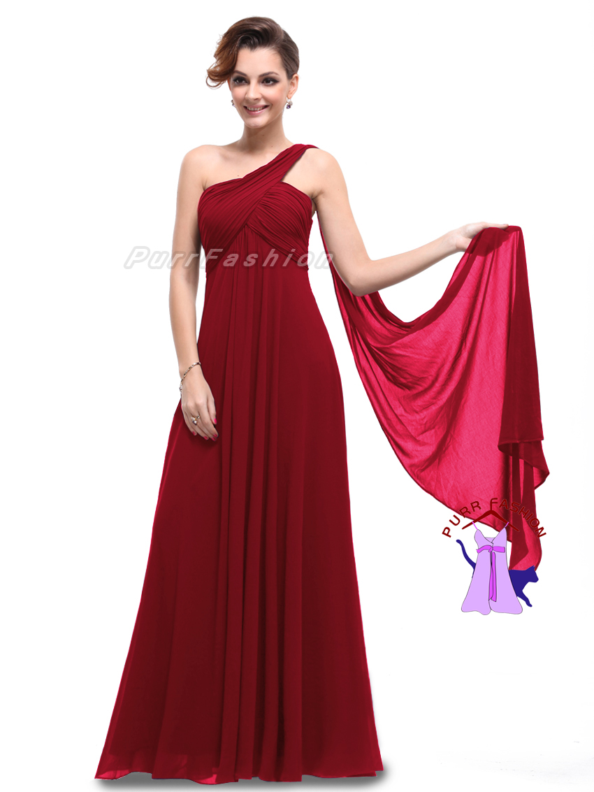 Bnwt eve one shoulder dark red maxi prom evening long bridesmaid bnwt eve one shoulder dark red maxi prom evening long bridesmaid dress size 16 ebay ombrellifo Image collections